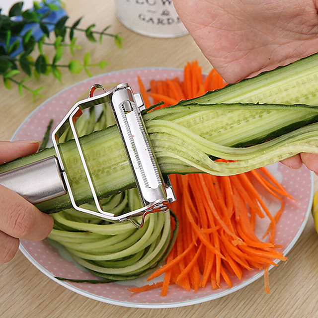 New Arrival Cooking Tools Multifunction Stainless Steel Vegetable Peeler Kitchen Accessories