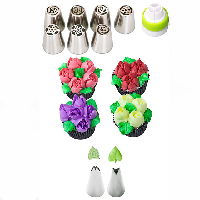 1 set Cake Molds Bakeware tools Stainless Steel A Grade ABS Eco-friendly