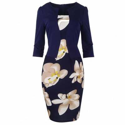 Release Me Printed Bodycon Dress_3