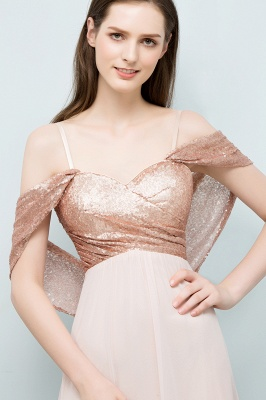 JOSEPHINE | A-line Sweetheart Off-shoulder Spaghetti Long Sequins Chiffon Prom Dresses_4