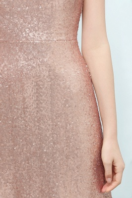 JOSELYN | A-line Floor Length Scoop Sleeveless Sequined Prom Dresses_8