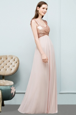 JOSEPHINE | A-line Sweetheart Off-shoulder Spaghetti Long Sequins Chiffon Prom Dresses_6