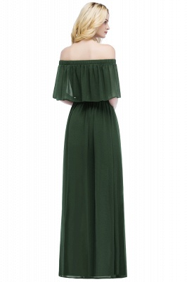 Hera | Off the shoulder Black Long Evening Dress - Clearance Sale_9