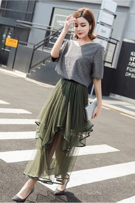 Beatrice | Black Tulle Skirt with Layers_15