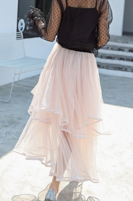 Beatrice | Black Tulle Skirt with Layers_21