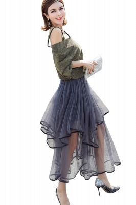 Beatrice | Black Tulle Skirt with Layers_10