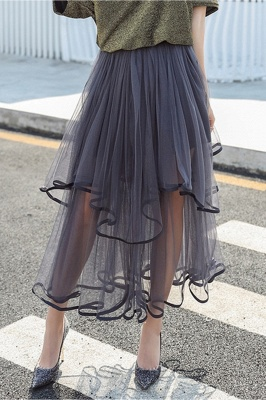 Beatrice | Black Tulle Skirt with Layers_11