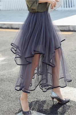 Beatrice | Black Tulle Skirt with Layers_12