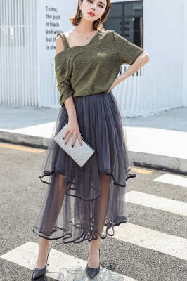 Beatrice | Black Tulle Skirt with Layers_3