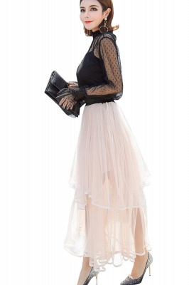 Beatrice | Black Tulle Skirt with Layers_19
