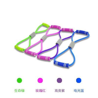 Yoga Fitness Resistance Chest Expander Rope Workout Muscle Fitness Rubber Elastic Bands Sports Exercise Equipment_7