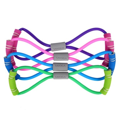 Yoga Fitness Resistance Chest Expander Rope Workout Muscle Fitness Rubber Elastic Bands Sports Exercise Equipment