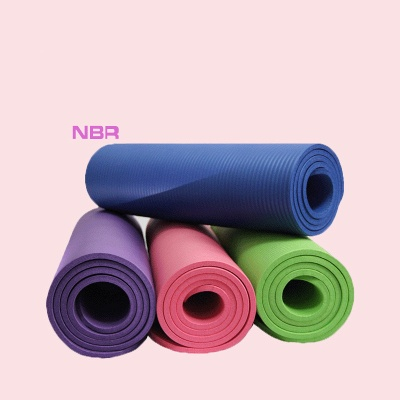 High Quality Non-slip Yoga Mats For Fitness Big Size Yoga Blanket NBR Outdoor Home Heath Exercise Pad_1