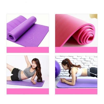 High Quality Non-slip Yoga Mats For Fitness Big Size Yoga Blanket NBR Outdoor Home Heath Exercise Pad_2