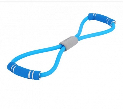 Yoga Fitness Resistance Chest Expander Rope Workout Muscle Fitness Rubber Elastic Bands Sports Exercise Equipment_2