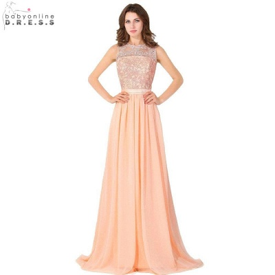 Cheap A-line Chiffon Bridesmaid Dress Tulle Lace Ruffles in Stock_7