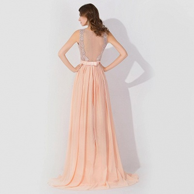 Cheap A-line Chiffon Bridesmaid Dress Tulle Lace Ruffles in Stock_2