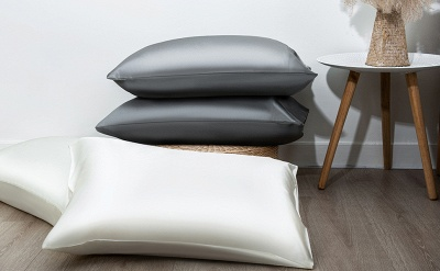 Fatapaese Satin Pillowcase Set of 2, Standard Size Silky Pillow Cases for Hair and Skin No Zipper_18
