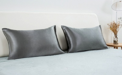 Fatapaese Satin Pillowcase Set of 2, Standard Size Silky Pillow Cases for Hair and Skin No Zipper_24