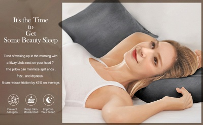 Fatapaese Satin Pillowcase Set of 2, Standard Size Silky Pillow Cases for Hair and Skin No Zipper_23