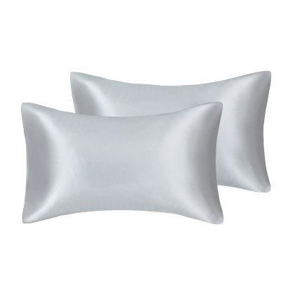 Fatapaese Satin Pillowcase Set of 2, Standard Size Silky Pillow Cases for Hair and Skin No Zipper_16