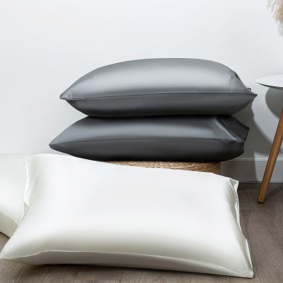 Fatapaese Satin Pillowcase Set of 2, Standard Size Silky Pillow Cases for Hair and Skin No Zipper_17
