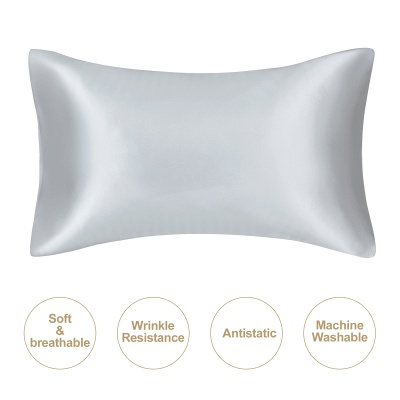Fatapaese Satin Pillowcase Set of 2, Standard Size Silky Pillow Cases for Hair and Skin No Zipper_47