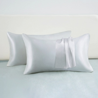 Fatapaese Satin Pillowcase Set of 2, Standard Size Silky Pillow Cases for Hair and Skin No Zipper_10
