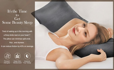 Fatapaese Satin Pillowcase Set of 2, Standard Size Silky Pillow Cases for Hair and Skin No Zipper_26