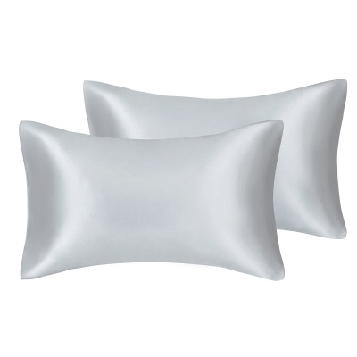 Fatapaese Satin Pillowcase Set of 2, Standard Size Silky Pillow Cases for Hair and Skin No Zipper_42