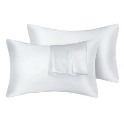 Fatapaese Satin Pillowcase Set of 2, Standard Size Silky Pillow Cases for Hair and Skin No Zipper_1