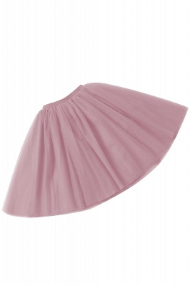 White Short Puffy Petticoat with Layers_32