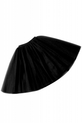 White Short Puffy Petticoat with Layers_39