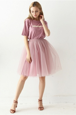 White Short Puffy Petticoat with Layers_27