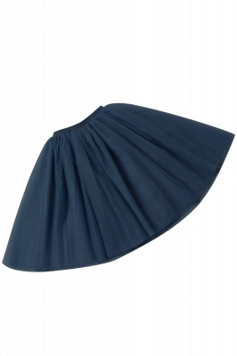 White Short Puffy Petticoat with Layers_23