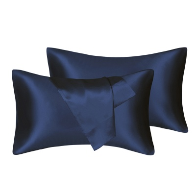 Fatapaese Satin Pillowcase Set of 2, Standard Size Silky Pillow Cases for Hair and Skin No Zipper_8
