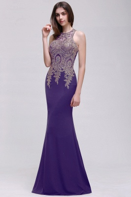 BROOKLYNN | Mermaid Black Prom Dresses with Lace Appliques_2