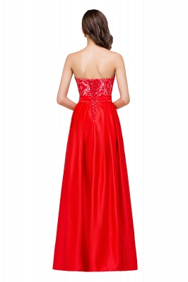 EVERLY   A-line Sleeveless Sweetheart Floor-Length Red Chiffon Prom Dresses_3