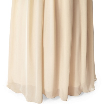 AISLINN | A-line V-neck Chiffon Party Dress With  Sequined_13