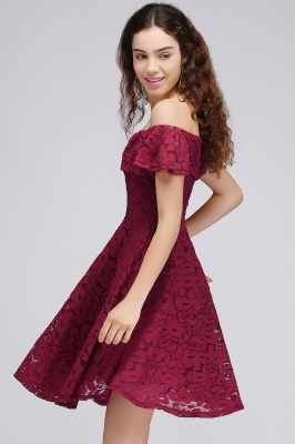 BRIAR | A-Line Off-the-shoulder Lace Burgundy Homecoming Dresses_6