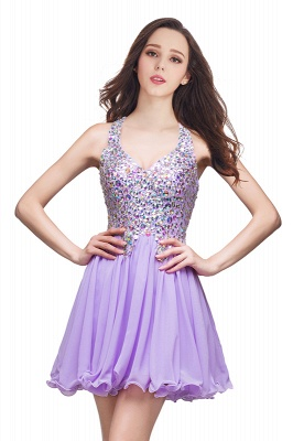 ELIANNA | A-line Sweetheart Short Sleeveless Chiffon Prom Dresses with Crystal Beads_2