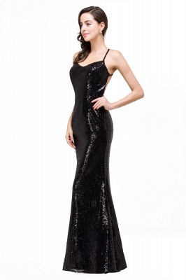 Mermaid Sleeveless Sweetheart Floor-length Prom Dress with Sequins_8
