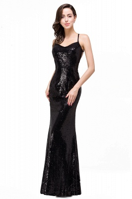 Mermaid Sleeveless Sweetheart Floor-length Prom Dress with Sequins_7