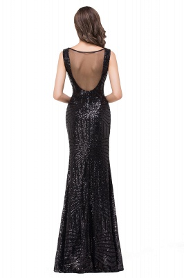 EVERLEIGH | Mermaid V-neck Sleeveless Floor-Length Sequins Prom Dresses_6