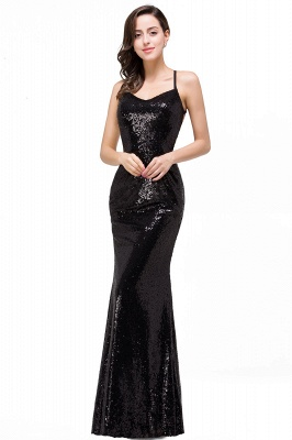 Mermaid Sleeveless Sweetheart Floor-length Prom Dress with Sequins_5