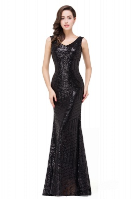 EVERLEIGH | Mermaid V-neck Sleeveless Floor-Length Sequins Prom Dresses_8