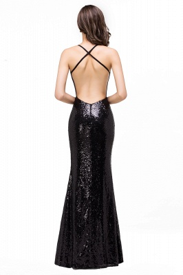 Mermaid Sleeveless Sweetheart Floor-length Prom Dress with Sequins_3