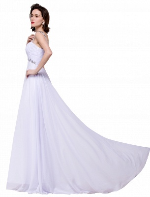 AINSLEY | A-line Sweetheart Chiffon Evening Dress With  Crystal_10