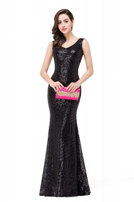 EVERLEIGH | Mermaid V-neck Sleeveless Floor-Length Sequins Prom Dresses_7