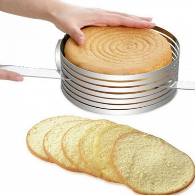 New Arrival Cake Cutter Stainless Steel   A Grade ABS DIY For Bread Cake Round Cake Molds
